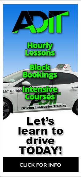 ADIT Driving School in Isleworth - Hourly Lessons, Block Bookings, Intensive Courses